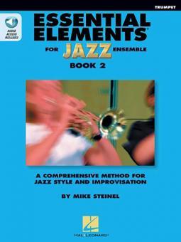 Essential Elements for Jazz Ensemble Book 2 - Bb Trumpet