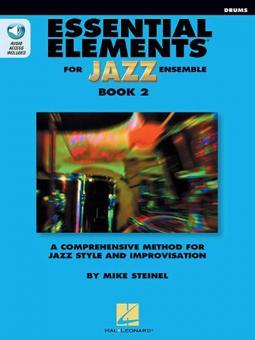 Essential Elements for Jazz Ensemble Book 2 - Drums