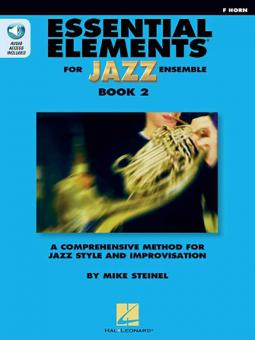 Essential Elements for Jazz Ensemble Book 2 - F Horn