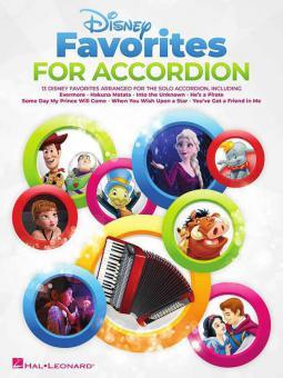 Disney Favorites for Accordion
