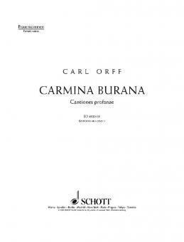 Carmina BuranaStandard