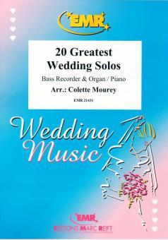 20 Greatest Wedding Solos DOWNLOADDownload