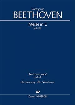 Messe ut majeur op. 86