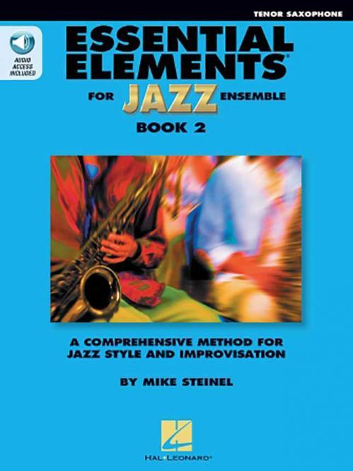 Essential Elements for Jazz Ensemble Book 2 - Bb Tenor Saxophone