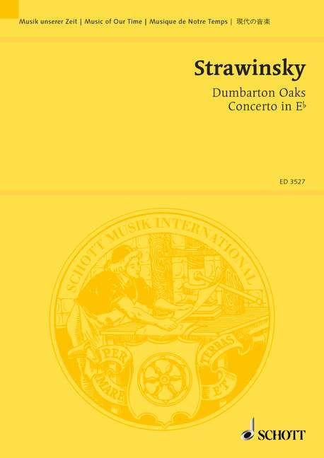 Concerto in E flat Dumbarton Oaks Standard