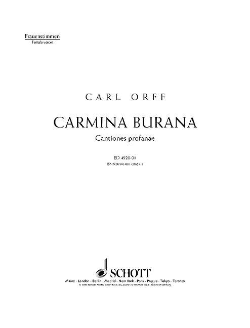 Carmina Burana Standard