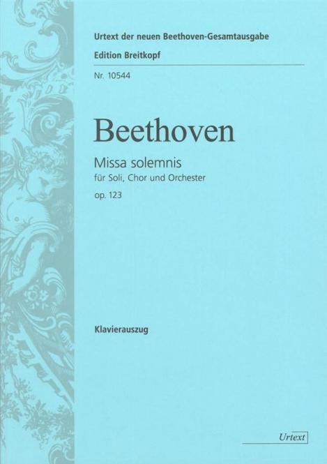 Missa Solemnis D-Dur op. 123