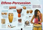 Instrumenten-Poster: Ethno-Percussion