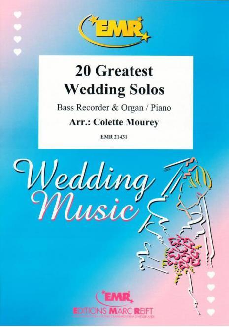 20 Greatest Wedding Solos Standard