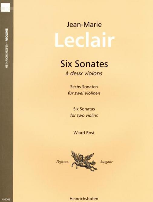 6 Sonatas Op. 3