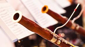 Notes de musique pour basson