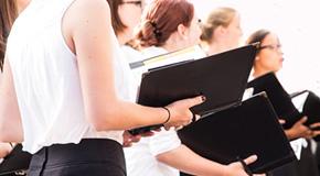 Partitions pour chœur féminin