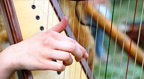 Partitions pour harpe