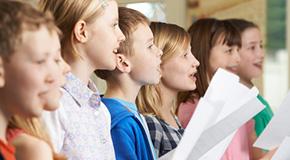 Partitions pour chœur d'enfants