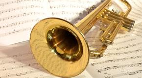 Notes de musique pour trompette